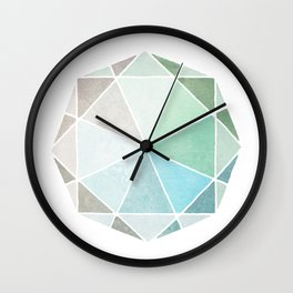 Polygones Wall Clock