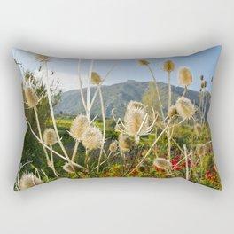 Meadow of Sicilian Spring Rectangular Pillow