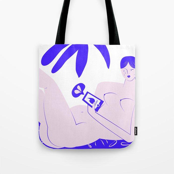 modern love Tote Bag