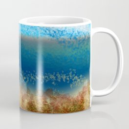 Abstract Seascape 01 w Coffee Mug