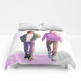Boys being boys Comforters
