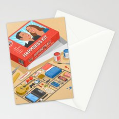 How to build happiness Stationery Cards