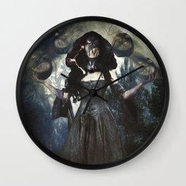 Juggling Halloween Wall Clock
