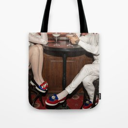 I'd like to take you on a date. Sixteen past eight Tote Bag