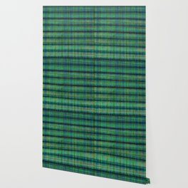 Forest Straw Plaid On Frozen Lake Wallpaper