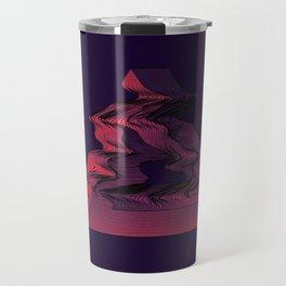 Penrose Distortion (Dark) Travel Mug