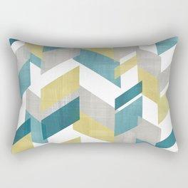 Bright geometrical pattern Rectangular Pillow