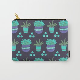Potted Plants Pattern Carry-All Pouch