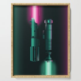 Light Sabers Serving Tray