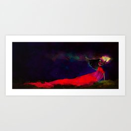 Faith in the Darkness Art Print