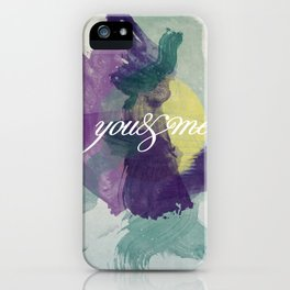 you&me iPhone Case