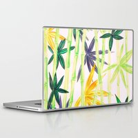 bamboo Laptop & iPad Skins featuring Bamboo by Federico Faggion