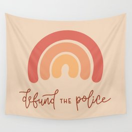 Defund the Police Wall Tapestry
