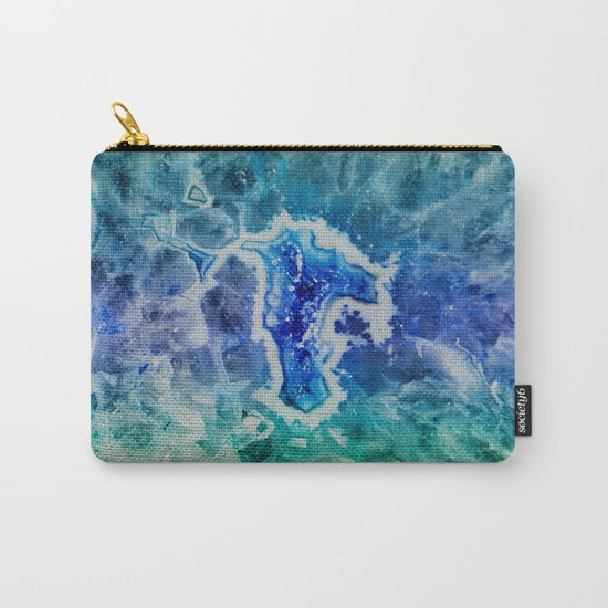 MINERAL MAZE Carry-All Pouch