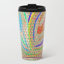 Colorful Lotus flower - uma releitura Travel Mug
