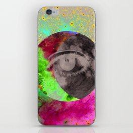 I'll be looking at the moon... and I'll be seeing you iPhone Skin