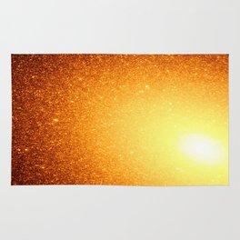 Golden Sun Stars Rug