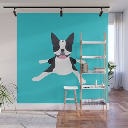 boston terrier Wall Mural