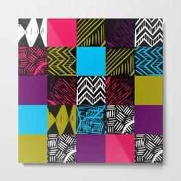 Colour block bright Metal Print