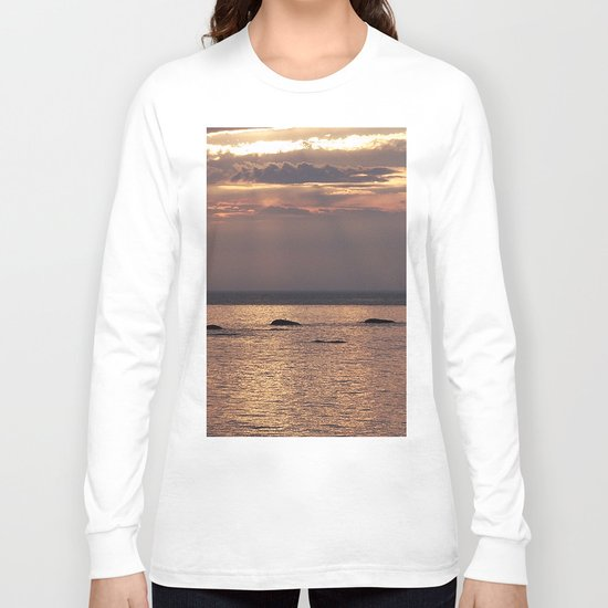 Circle of Rocks Light From Above Long Sleeve T-shirt