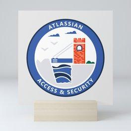 Access & Security Mini Art Print