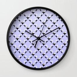 Mod Lavender Wall Clock