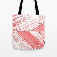 coral Tote Bags featuring CORAL by LEEMO