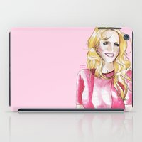 britney spears iPad Cases featuring Britney Spears X-Factor USA by Eduardo Sanches Morelli