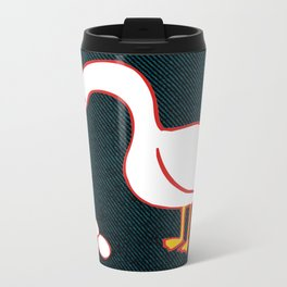 WHAT!? Metal Travel Mug