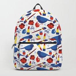 Birds in Primary Backpack