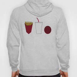 Aqua teen hunger force minimalist  Hoody