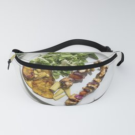 aleo chicken skewers with plantains Fanny Pack