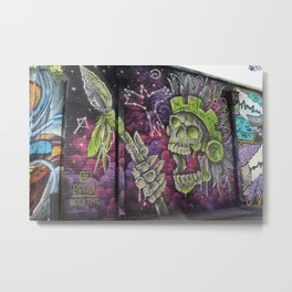 Mayan Warrior Spirit Metal Print