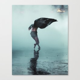 Dance wind Canvas Print