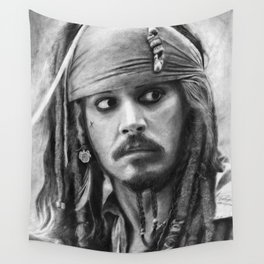 Jack Sparrow Wall Tapestry