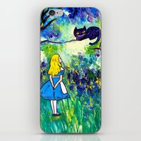 Alice in Wonderland Monet-style iPhone & iPod Skin