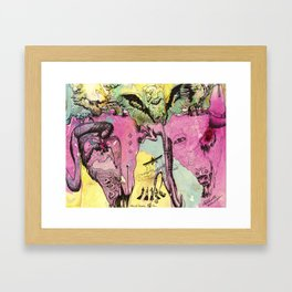 #102 Colombia, Vultures Everywhere Framed Art Print