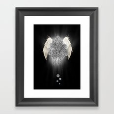 Angel of the chaos Framed Art Print