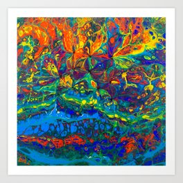 Colorful Abstract Art Print