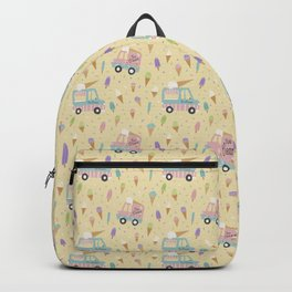 Ice Cream Trucks and Treats Backpack