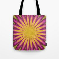 blossom Tote Bags featuring Blossom by David Zydd