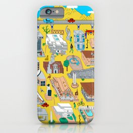 Arquitectura Dominicana Ilustrada: Santo Domingo iPhone Case