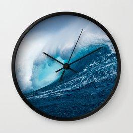 Wave of Impact Wall Clock