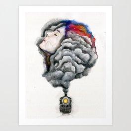 The Midnight Train Art Print