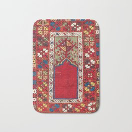 Mujur Central Anatolian Niche Rug Print Bath Mat