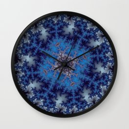 Fractal Square Wall Clock