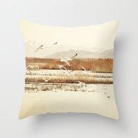 nautical Throw Pillows featuring Nautical  by Sylvia C