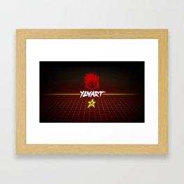 YLNART - Back to the 80s Framed Art Print