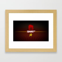 YLNART - Back to the 80s Framed Art Print