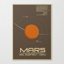 Sol: Mars Canvas Print